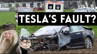 TESLA CRASH | Whose Fault Is It?