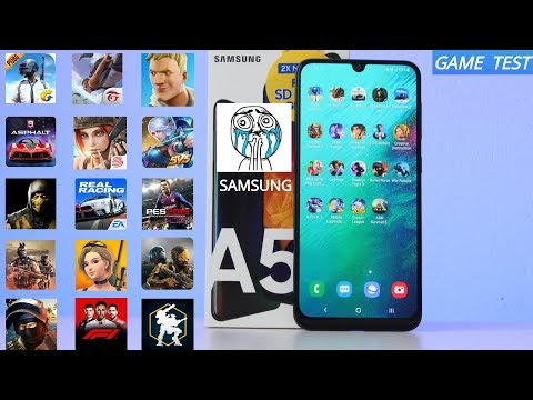 Game Test | Samsung Galaxy A50 | In 20 Games Android  PUBG - Asphalt 9 - ¿Fortnite?🔥