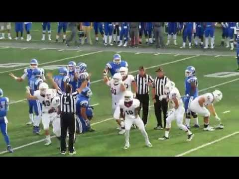 Lafayette Leopards Vs CCSU - Football Game Video Highlights - Arute Field - September 02, 2016