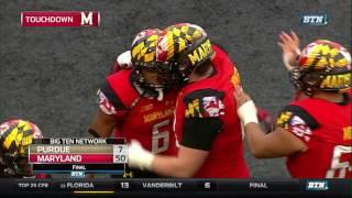 Purdue At Maryland - Football Highlights