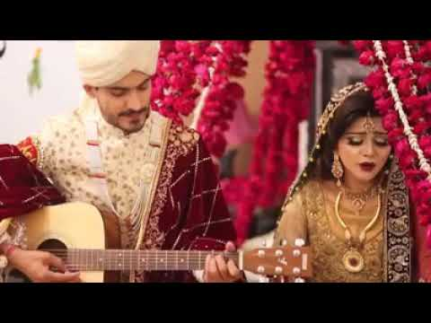 Pakistani news anchor Irza khan singing on her Wedding thumbnail