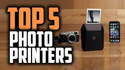 Best Portable Photo Printers in 2019 - Print Pictures Instantly!