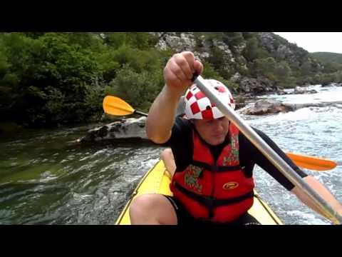 Cetina 2013, kajak na divnim vodama
