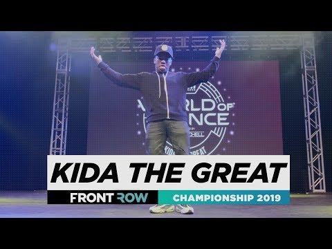 Kida The Great  FRONTROW  World of Dance Championship 2019  WODCHAMPS19