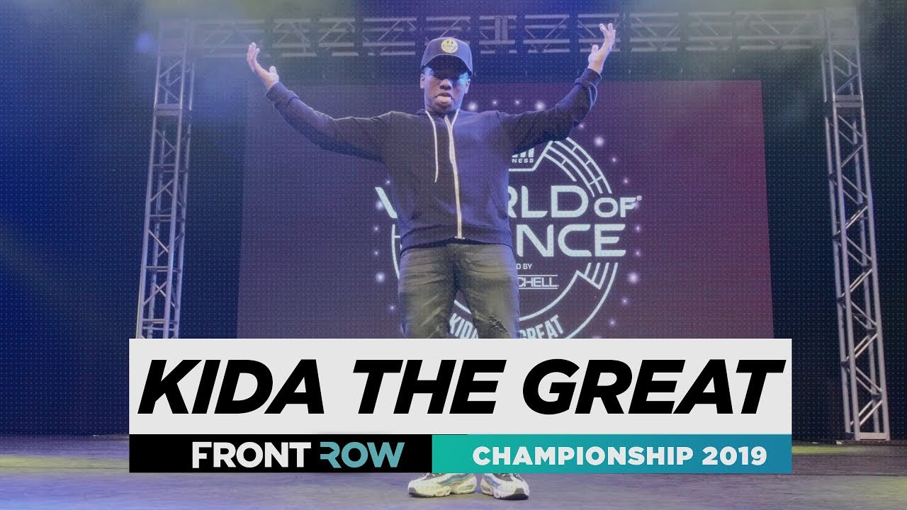Kida The Great | FRONTROW | World of Dance Championship 2019 | #WODCHAMPS19