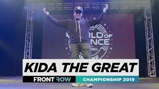 Kida The Great | FRONTROW | World of Dance Championship 2019 | #WODCHAMPS19