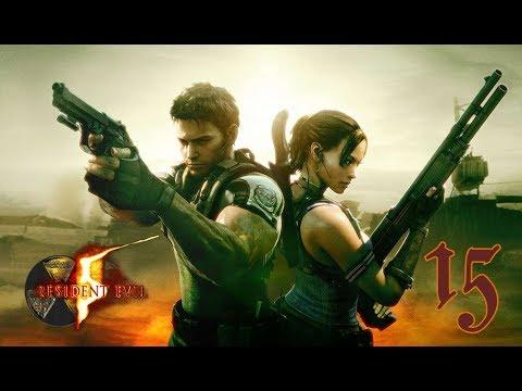 Resident Evil 5 z Dudusiem 15(G) Pająk gigant z ryjodołem