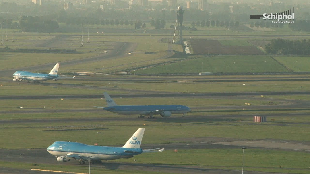 Schiphol | Flight paths and runway use