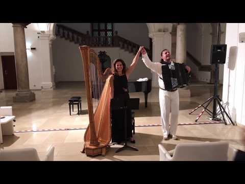 Ave Maria - Marco Lo Russo dedicate to Pope Francis ft Alessia Luise harp