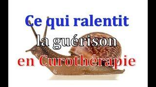 Ce qui ralentit la guérison en Curothérapie - Curotherapie.com