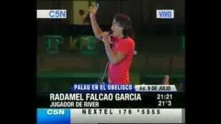 Radamel Falcao Testificando de Jesucristo
