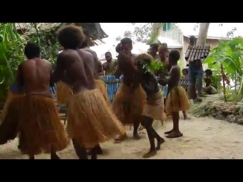 Solomon Islands Pan Pipes and Dancing