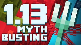 Minecraft 1.13 Myths BUSTED! (Minecraft Science)