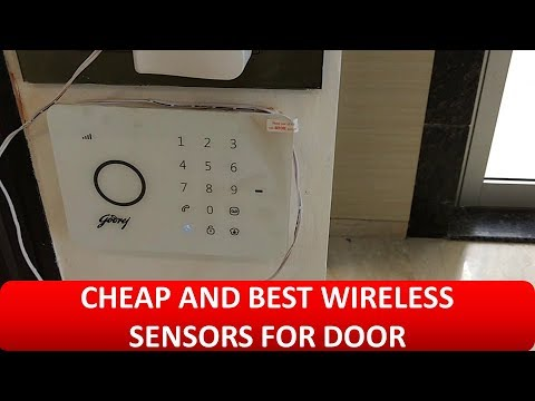 Godrej Wireless Burglar Alarm for door (Best Sensor for Door)