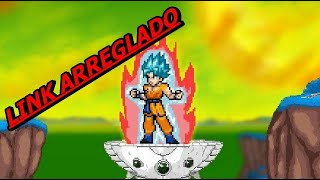 GOKU SSJ DIOS CON KAIOKEN en super smash flash 2/link en la descripcion