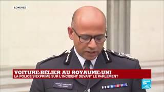 REPLAY - Voiture bélier au Royaume-Uni : la police s'exprime sur l'incident devant le Parlement