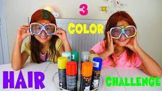 3 Xρώματα Mαλλιών Challenge / ARIADNI STAR /3 color of hair dye challenge
