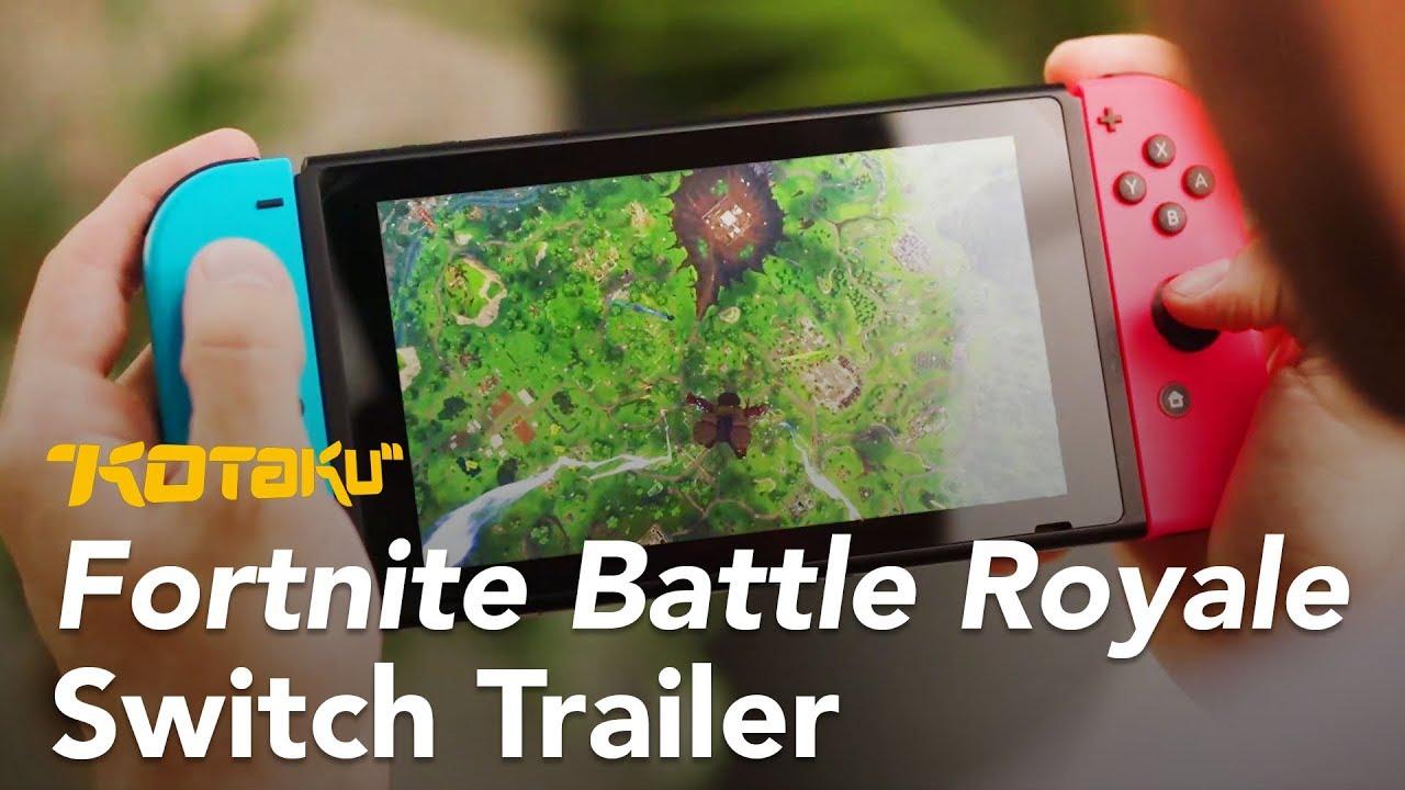 Fortnite: Battle Royale For Switch Trailer