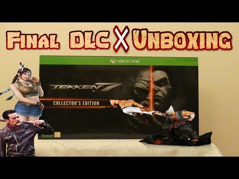 TEKKEN 7: FINAL DLC Characters + Collector's Edition UNBOXING & REVIEW! (Quad HD)