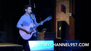 "Andy Grammer Performs ""Back Home"" live at Home in Grand Rapids 2014 with Channel 95-7"