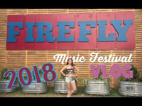 firefly music festival vlog 2018