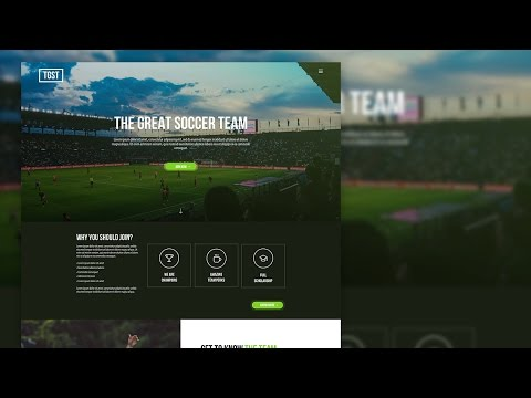 Sketch 3 - Web UI Design for Sports Team (Timelapse)