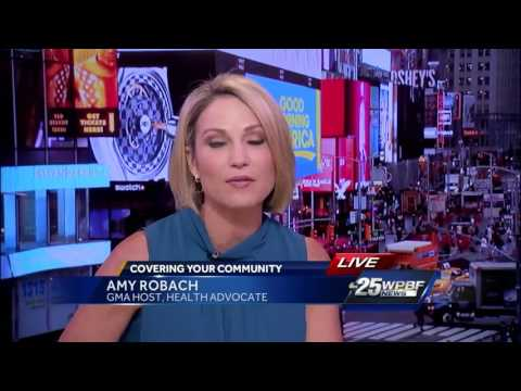 One-on-one with GMA anchor Amy Robach