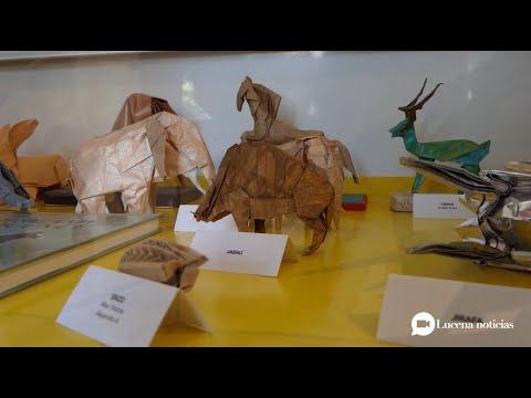 VÍDEO: Estuvimos en la exposición de papiroflexia de la Casa de los Mora. Echa un vistazo... ¡Sorprendente!
