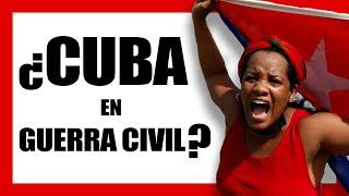 ¿QUÉ ESTÁ PASANDO EN CUBA? Diaz -Canel llama a la movilización civil