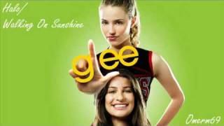 Glee Cast - Halo / Walking On Sunshine (HQ)