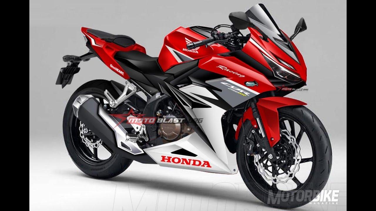 Honda Cbr 250 >> Nova Honda Cbr 250 300rr Motonews Youtube