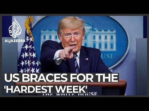 US Braces For 'hardest Week' In Coronavirus Fight