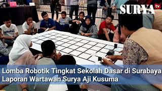 Anak-Anak Adu Robot di Robo Fest 2018 Surabaya