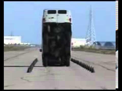 Тестирование тормозов автомобиля УАЗ (Буханки)