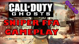 Call of Duty: Ghosts Sniping/Quickscoping FFA Gameplay