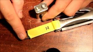 Come fare inscrizioni sul metallo GRATIS