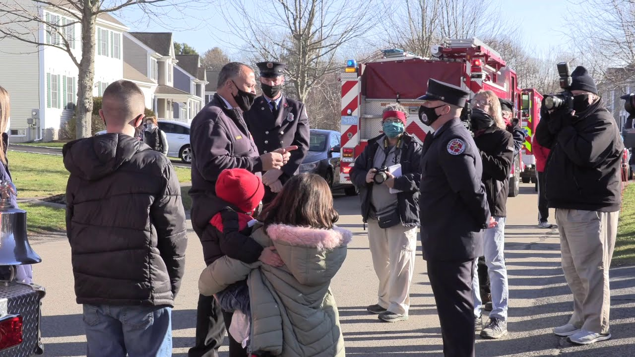 Fairhaven Fire Chief Tim Francis' Last Ride