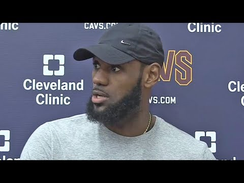 LeBron James On Facing Celtics Without Kyrie Irving, Playing In Boston, Brad Stevens & Young Players