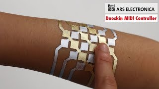 Microsoft Research Duoskin - Use Golden Tattoos As A MIDI Controller | ARS ELECTRONICA 2017