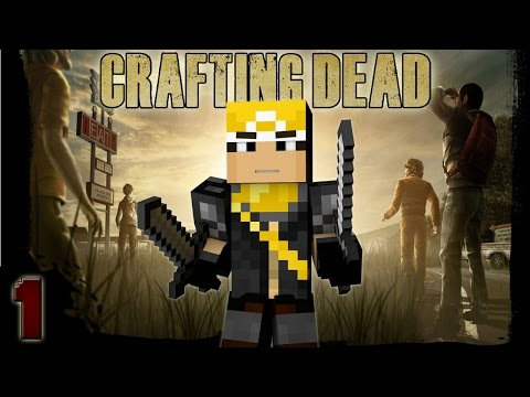 Minecraft: The Crafting Dead Episode #1 - This is Hard!!
