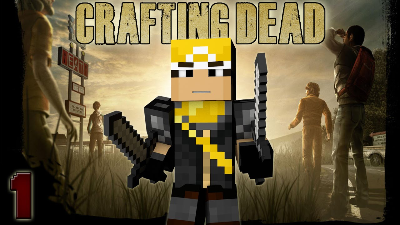 Minecraft the crafting dead episode 1 this is hard for The crafting dead ep 1