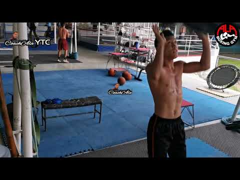 32nd Vlog Sports: Kevin Jake Cataraja and Clark Sanchez conditioning training at the Ala Gym,