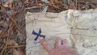 Jaelyn Finds the River Pirate Treasure Map