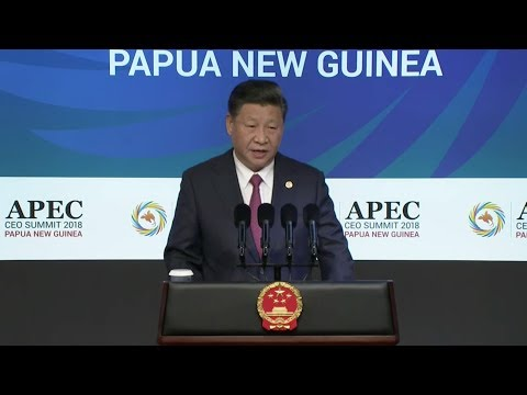 President Xi delivers keynote speech at APEC CEO Summit