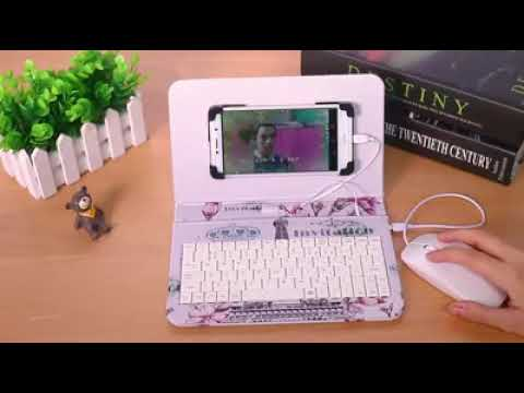 Mobile Phone Universal Keyboard With Mouse Holster Shell
