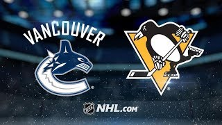 Vancouver Canucks vs Pittsburgh Penguins - Oct.16, 2018 | Game Highlights | NHL 2018/19 | Обзор