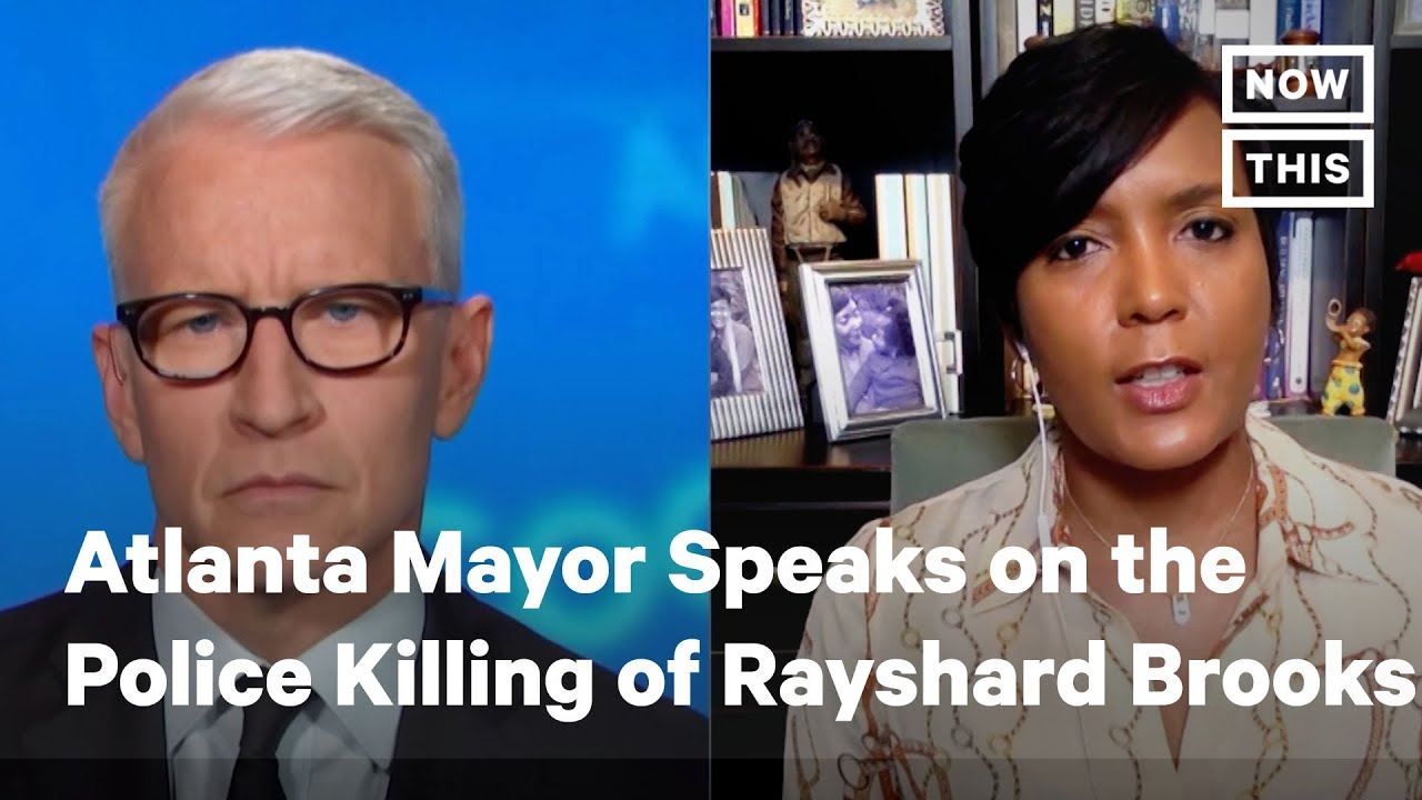 'You shot and killed a baby': Atlanta mayor demands an end to ...