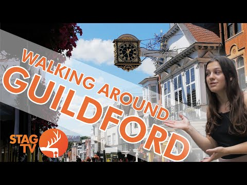Exploring Guildford - Freshers 2020