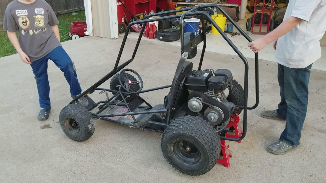 Red Fox LXT Go Kart Makeover by Kartastrophic Garage