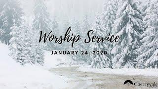January 24, 2021 Worship Service, Cherryvale UMC, Staunton, VA